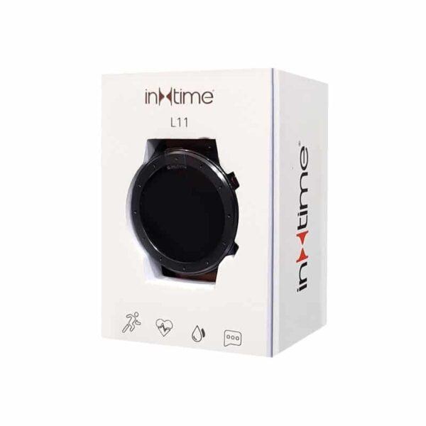 Smartwatch L11 ΙΝΤΙΜΕ 1.3 Έγχρωμο IP68 HR Blood Pressure Μαύρο_2