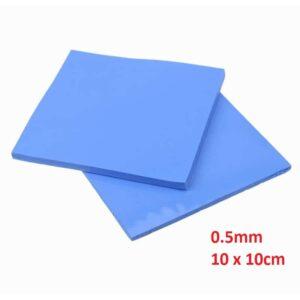 Thermal Pad 0.5mm 10 x 10cm Blue