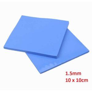 Thermal Pad 1.5mm 10 x 10cm Blue