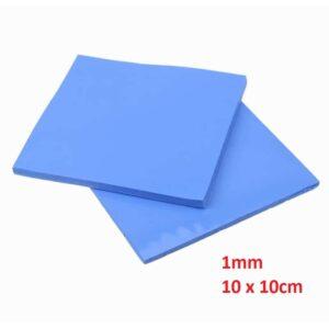 Thermal Pad 1mm 10 x 10cm Blue