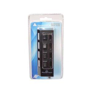 USB 2.0V HUB 4 Port POWERTECH με Διακόπτη ON OFF