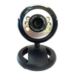 Web Camera POWERTECH 1.3MP Plug and Play Μαύρη