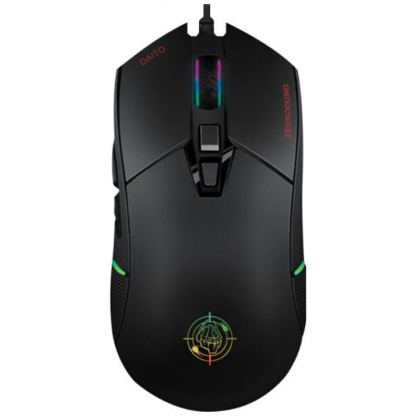 Zeroground MS-4000G Daito RGB Gaming Ποντίκι Μαύρο